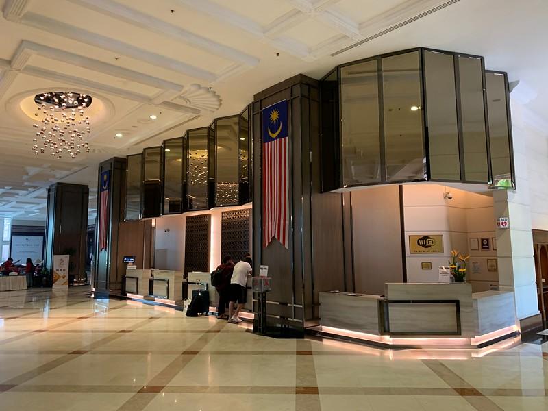 Check in at Putrajaya Marriott Hotel