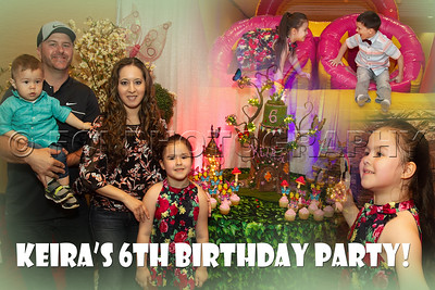 Keira's 6th Birthday Party