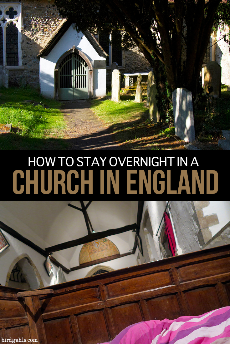 Looking for something truly odd to do in the United Kingdom? Why not spend the night in a church in #England or #Scotland? The trend is known as