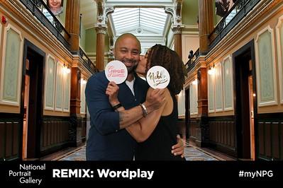 National Portrait Gallery REMIX: Wordplay