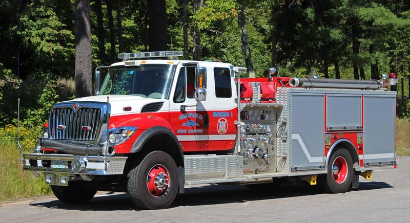 Engine 1 2008 International / KME 2000 / 500