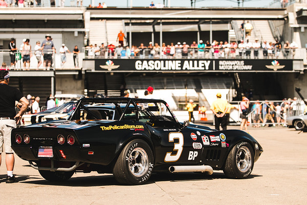 Corvettes at Indy Inagural SVRA June 2014 & June 2015 & June 2016