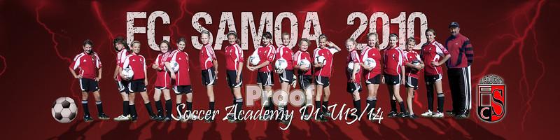 FC Samoa Team 2011