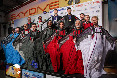 2ND FAI WORLD CUP OF WINGSUIT FLYING - COMPETITORS