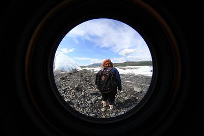 Matanuska Glacier Fisheye's