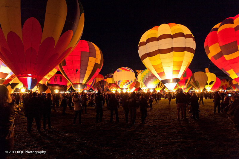 Albuquerque Balloon Fiesta:  Balloon Glow