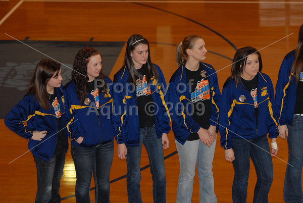 we are family/magical muffin mix pep rally . 2.16.12