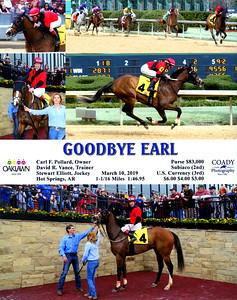 GOODBYE EARL - 3/10/2019