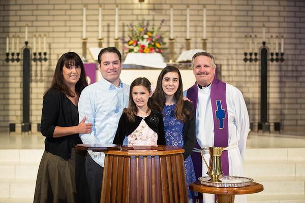 2018-03-04 Hunt Sisters' Baptism