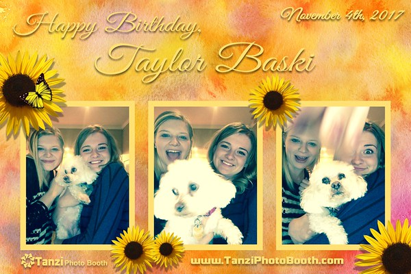 Taylor Baski Birthday 2017