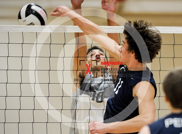 Boys Volleyball 2018 Boulder Creek vs Perry