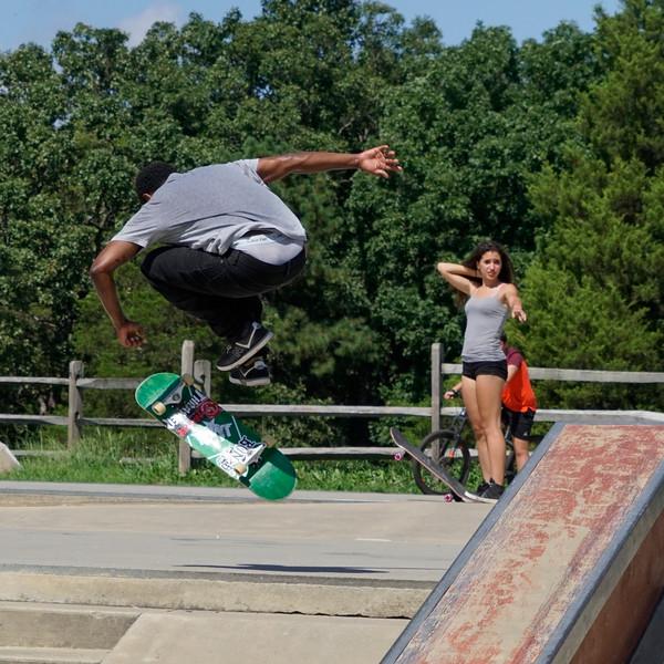 Lily's Photos 8-23-20 Lake Fairfax Skateboard Park