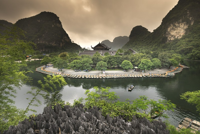 Tam Coc - day trips from Hanoi