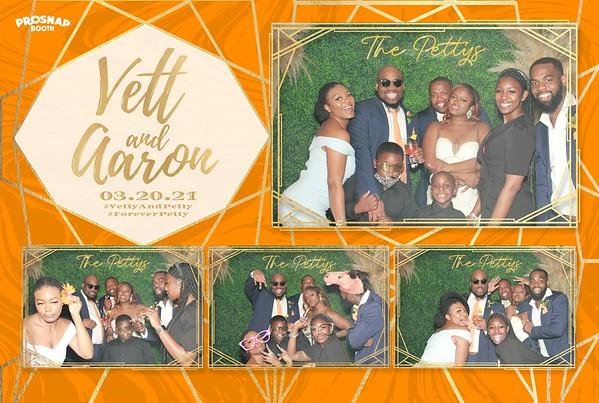 2021.03.20 Vett & Aaron's Wedding