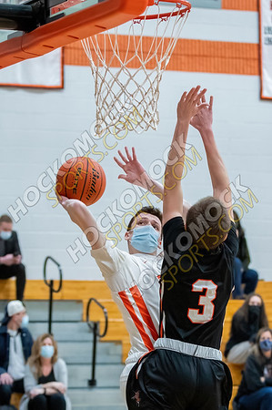 Oliver Ames-Stoughton Boys Basketball - 02-17-21