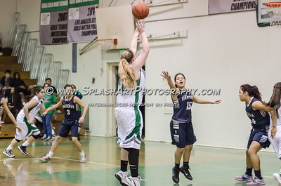 2016 Basketball Eagle Rock Girls vs Birmingham 17Feb2016