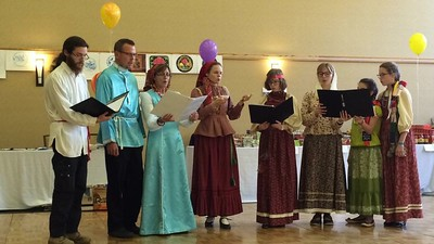 Michigan Deanery Missionary Choir at Kalamazoo Russian Festival