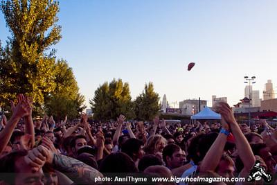 Kid Dynamite at 2011 FYF Fest - at LA Historic State Park - Los Angeles, CA - September 3, 2011