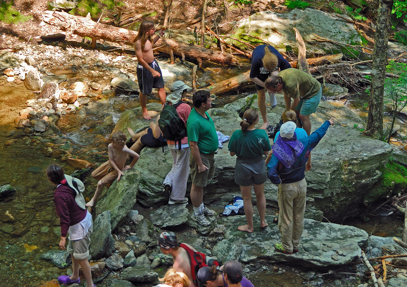 Our group at Tannery Falls   (Jul 01, 2006, 11:16am)