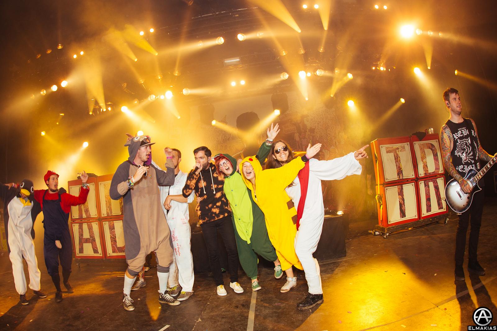 Costume party at Pukklepop festival