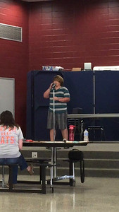 Chris's Talent Show Audition Spring 2015 (5th grade)