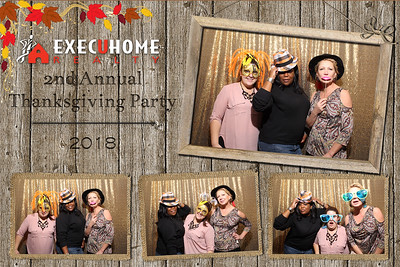 EXECUHOME Thanksgiving Holiday Party 2018