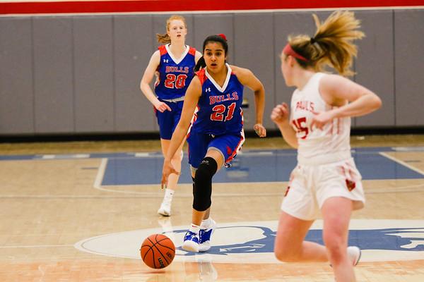 Girls' Varsity Basketball vs. St. Paul's   December 13