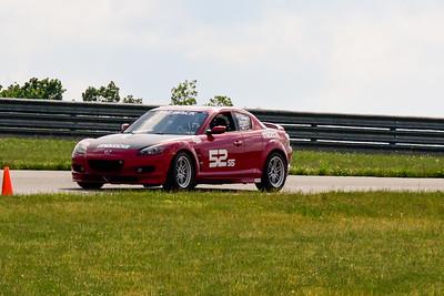 2020 SCCA TNiA June Pitt Race Red RX8
