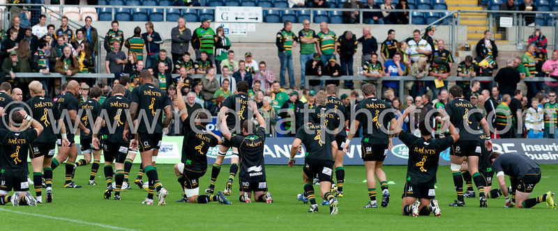 Northampton Saints vs Exeter Chiefs, Aviva Premiership, Franklin's Gardens, 2 October 2010