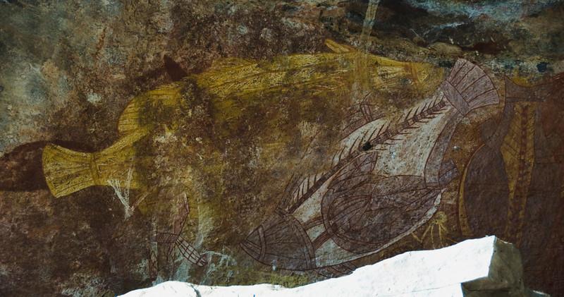 Ubirr Artwork 17, Kakadu National Park - Northern Territory, Australia
