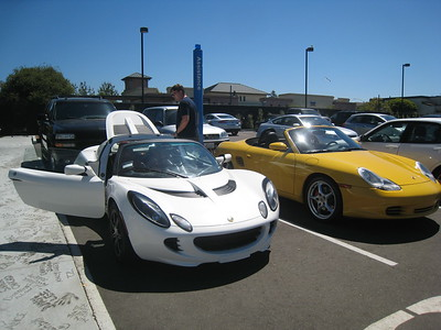 2012-08-08 Parking and Lotus Elise