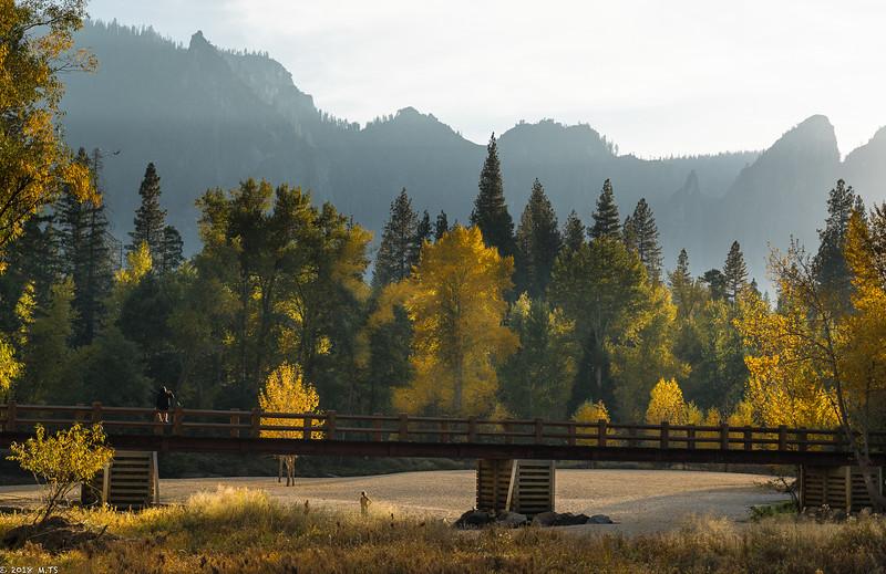 Yosemite Valley in October