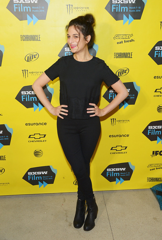 """. Comedian/actress Jenny Slate attends the \""""Obvious Child\"""" Premiere during the 2014 SXSW Music, Film + Interactive Festival at the Topfer Theatre at ZACH on March 9, 2014 in Austin, Texas.  (Photo by Michael Loccisano/Getty Images for SXSW)"""