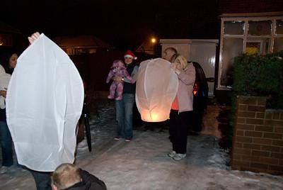 Lanterns at Christmas