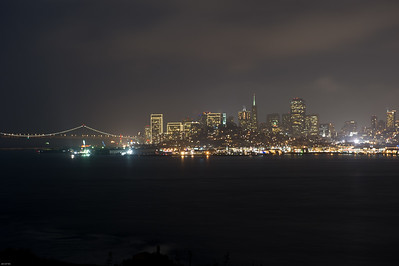 Alcatraz City Views