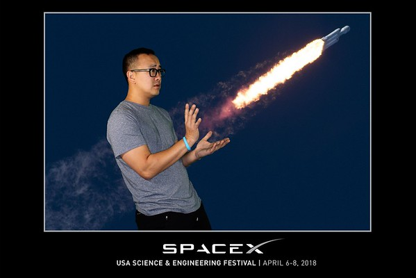 Green Screen Photos - 4.06.2018 - SpaceX - USA Science & Engineering Festival