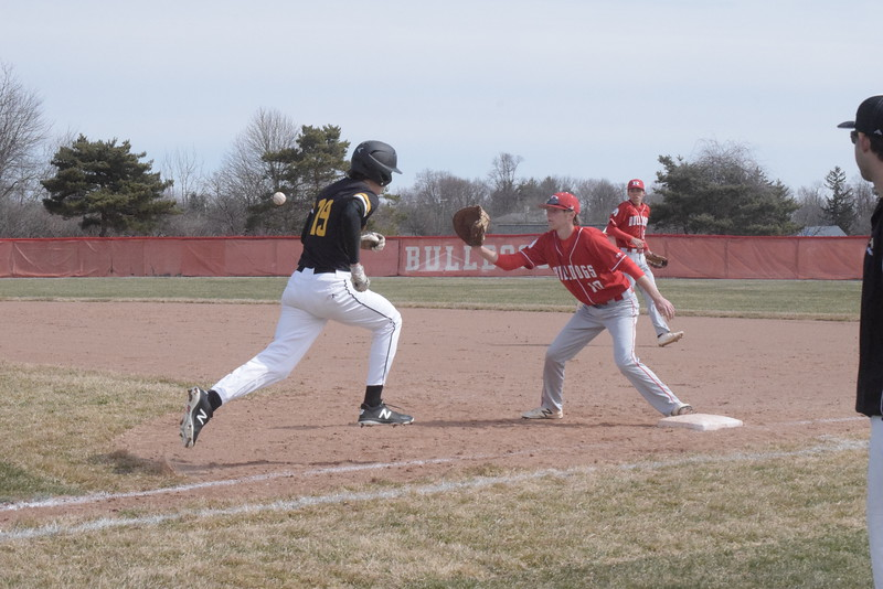 Romeo defeated Lutheran North 5-4 in the first game of a non-league doubleheader Saturday, April 21. THE MACOMB DAILY PHOTO GALLERY BY GEORGE POHLY