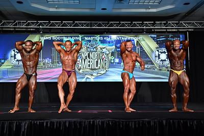 Men's Bodybuilding Masters 40+ BW
