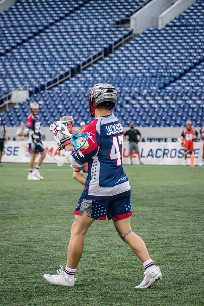 7/24/2020; Annapolis, MD, USA; Outlaws vs. Cannons  - at Navy Marine Corps Memorial Stadium. Mandatory Photography Credit: Anne Evans