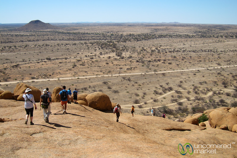 Bushman Paradise at Spitzkoppe National Park - Namibia