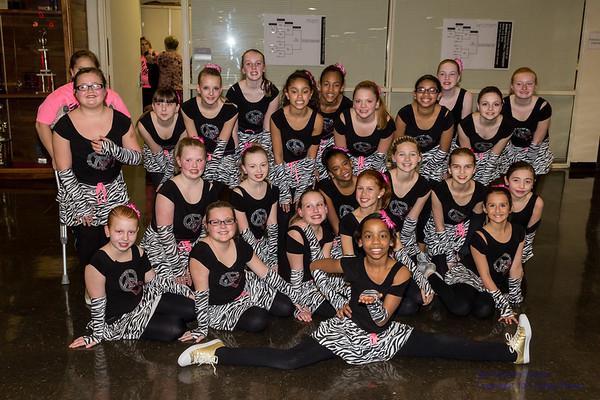 2014 Bowers Dance Team