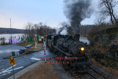 Connecticut Valley Railroad Christmas Trains, 12-16-18