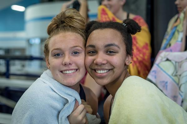 2020 Swim Team at La Salle