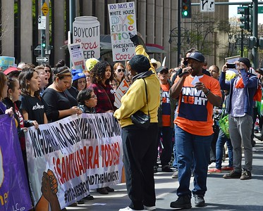 Coors Boycott Rally & March - Denver, Co 5/1/17