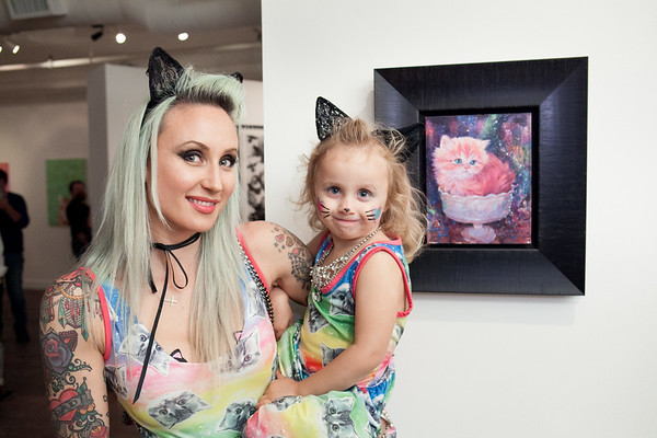 Jux- Cat Art Show