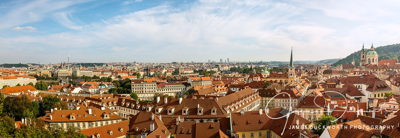 "Prague - A photo merge over 50"" wide at native size"