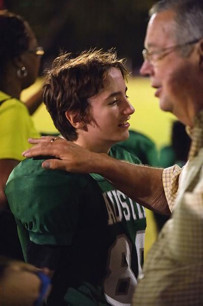 Brayden's football game - 3 October 2011