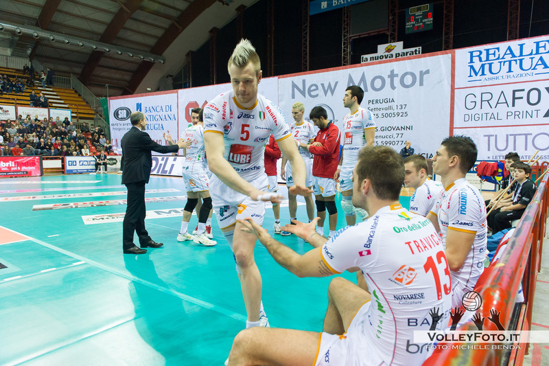 SIR Safety Perugia - LUBE Banca Marche Macerata  6ª Giornata di ritorno, Campionato Italiano di Volley Maschile, Serie A1, 2012/13