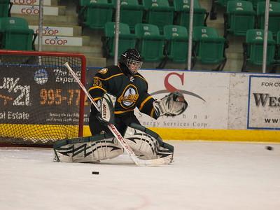 Foothills Bison vs Okotoks Oilers Midget AA Feb 15 2009