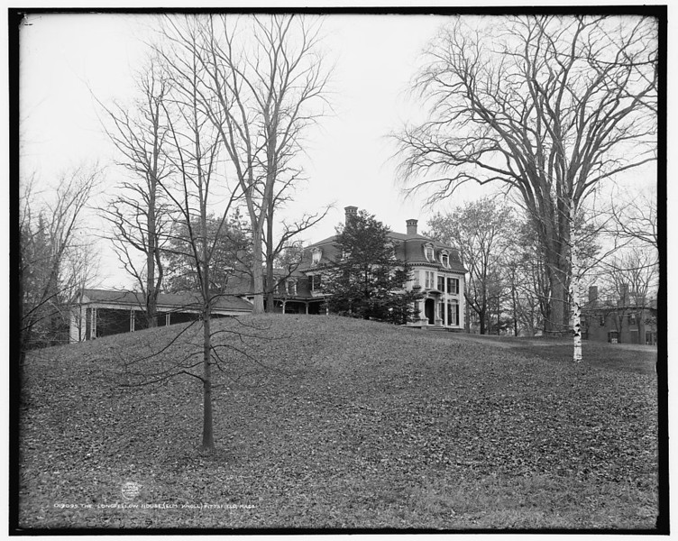 Longfellow home - before Pittsfield Public High School took that site